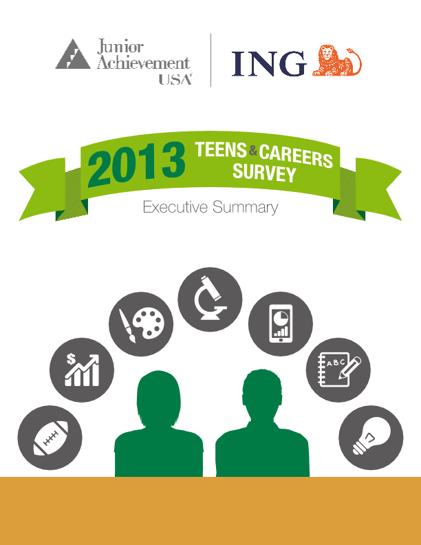 2013 Teens and Careers Survey