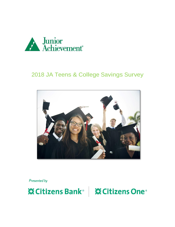 2018 Teens and College Savings